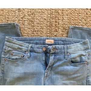 Mother Denim jeans with zippers